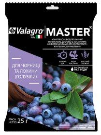 МАСТЕР ДЛЯ ГОЛУБИКИ NPK 13.40.13, 25 г (Valagro)
